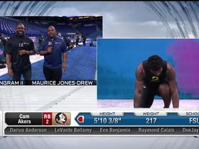Watch: Cam Akers runs unofficial 4.47 second 40-yard dash at 2020 combine