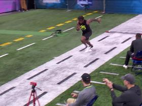 Watch: D'Andre Swift runs unofficial 4.49 second 40-yard dash at 2020 combine