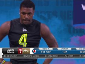 Watch: LeVante Bellamy runs unofficial 4.51 second 40-yard dash at 2020 combine