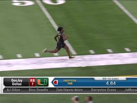 Watch: Eno Benjamin runs unofficial 4.57 second 40-yard dash at 2020 combine