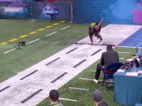Watch: D'Andre Swift runs unofficial 4.48 second 40-yard dash at 2020 combine