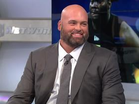 Watch: Andrew Whitworth shares his takeaways from OL prospects from combine