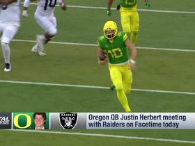Watch: Rapoport: Raiders will be very much in the QB mix in draft