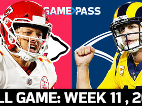Watch: Full NFL Game: Chiefs vs. Rams - Week 11, 2018 | NFL Game Pass