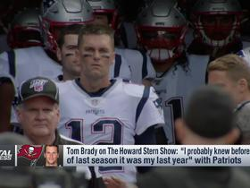 Watch: Rapoport: Pats had no inkling that 2019 would be Brady's last with team
