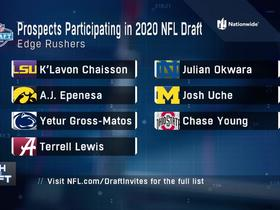 Watch: Edge rushers participating virtually in 2020 NFL Draft
