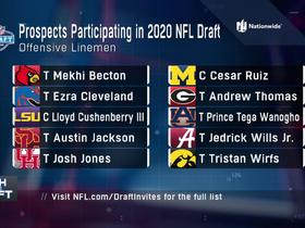Watch: OL participating virtually in 2020 NFL Draft announced