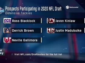 Watch: DTs participating virtually in 2020 NFL Draft announced