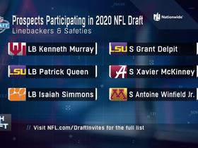 Watch: LBs, safeties participating virtually in 2020 NFL Draft announced