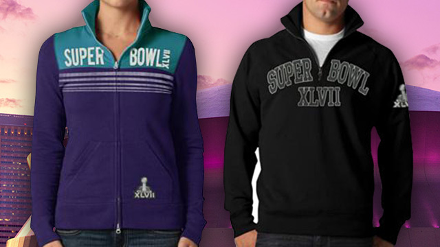 Super Bowl 47 Jackets