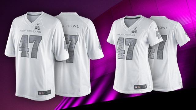 Official Super Bowl 47 Jerseys