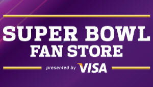 NFL Shop at Super Bowl presented by Visa