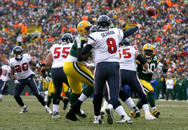 [Week 14] Houston Texans vs Green Bay Packers