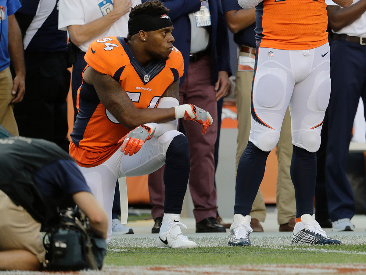 new style 1221c dcc9c Brandon Marshall takes knee during national anthem - NFL.com