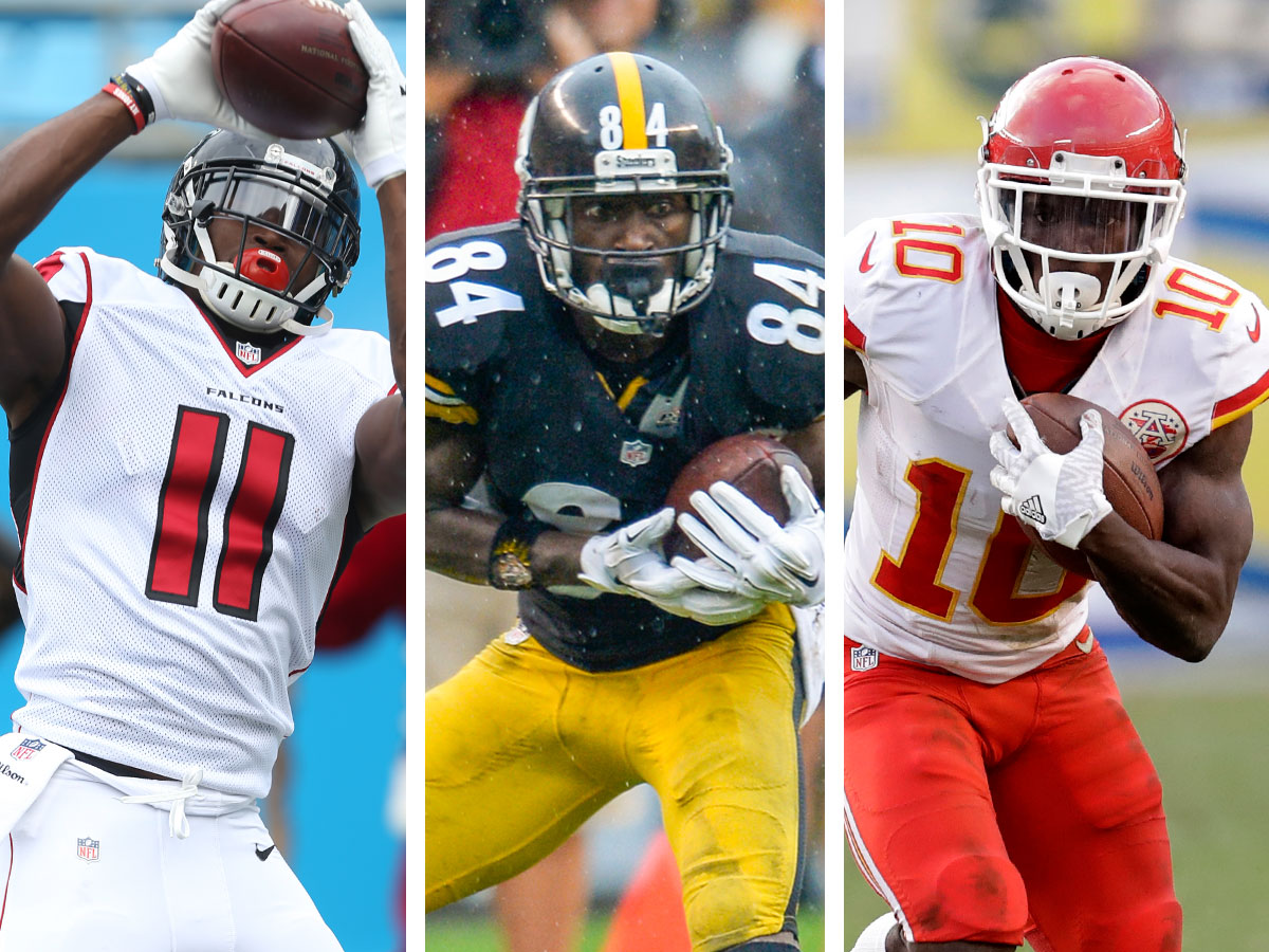 How to defend Julio Jones, Antonio Brown, Tyreek Hill and