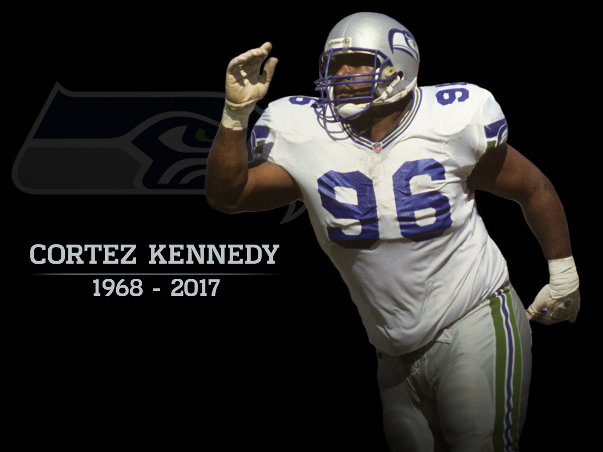 watch a99ea 6d0c5 Hall of Famer, Seahawks great Cortez Kennedy dead at 48 ...