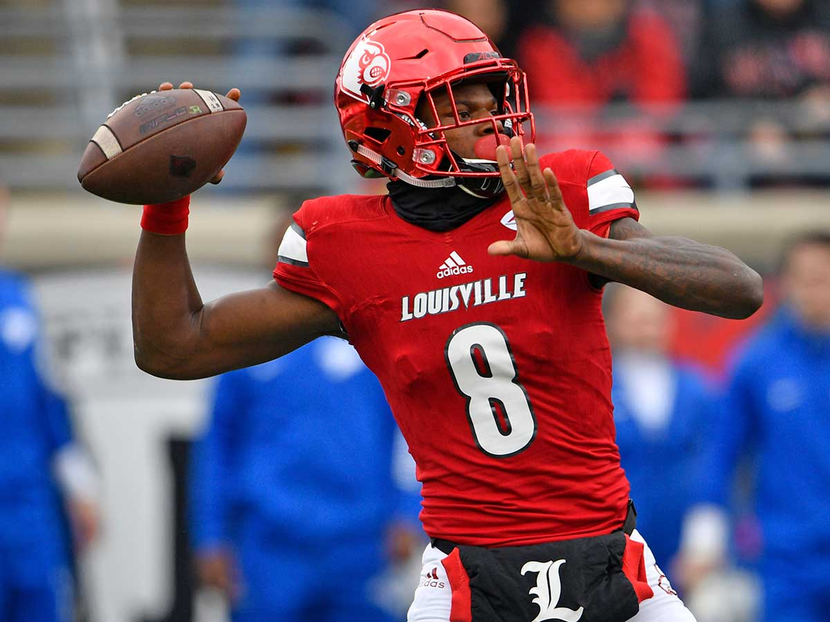 low priced b1c8c 6c293 First Look: Scouting Louisville QB Lamar Jackson - NFL.com