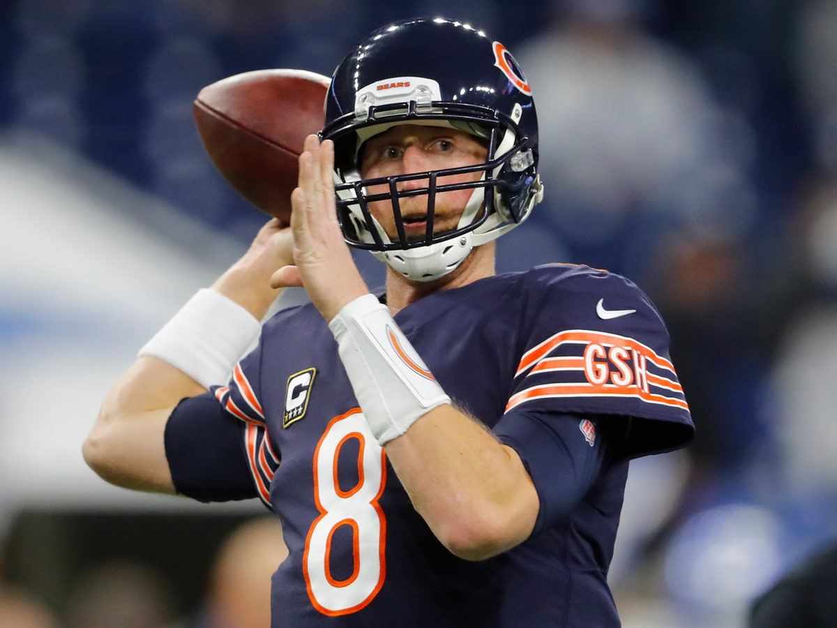 hot sale online 85651 44017 Bears will cut QB Mike Glennon after just one season - NFL.com