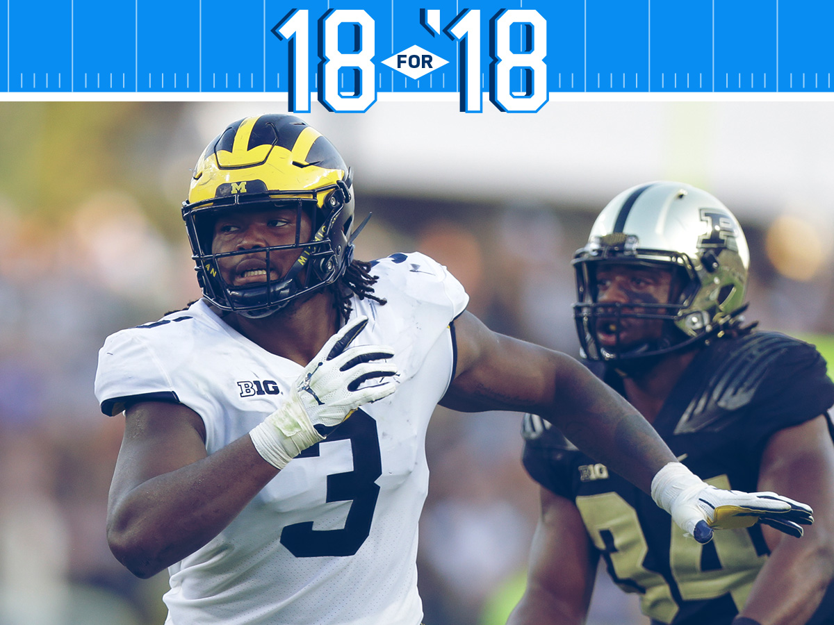 18 for '18: College football's most freakish athletes - NFL com