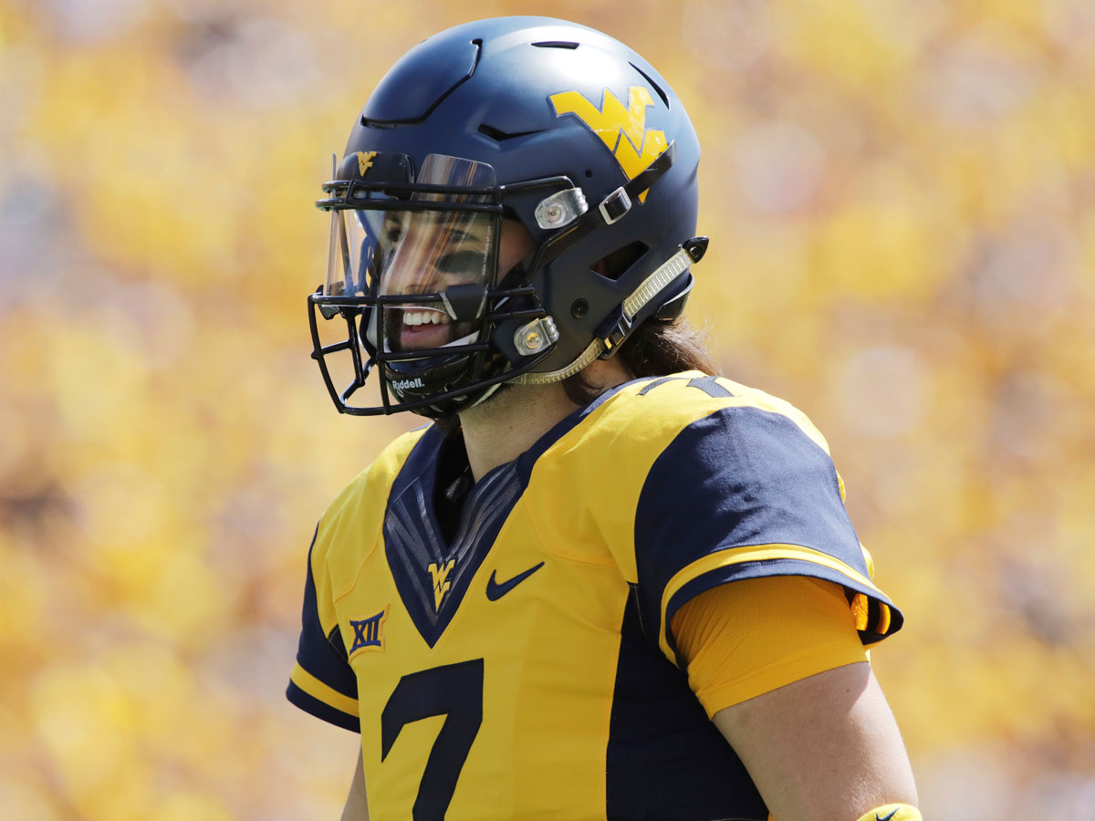 best website eeddc c73b7 Scouting Will Grier: Will WVU star be top QB in 2019 NFL ...