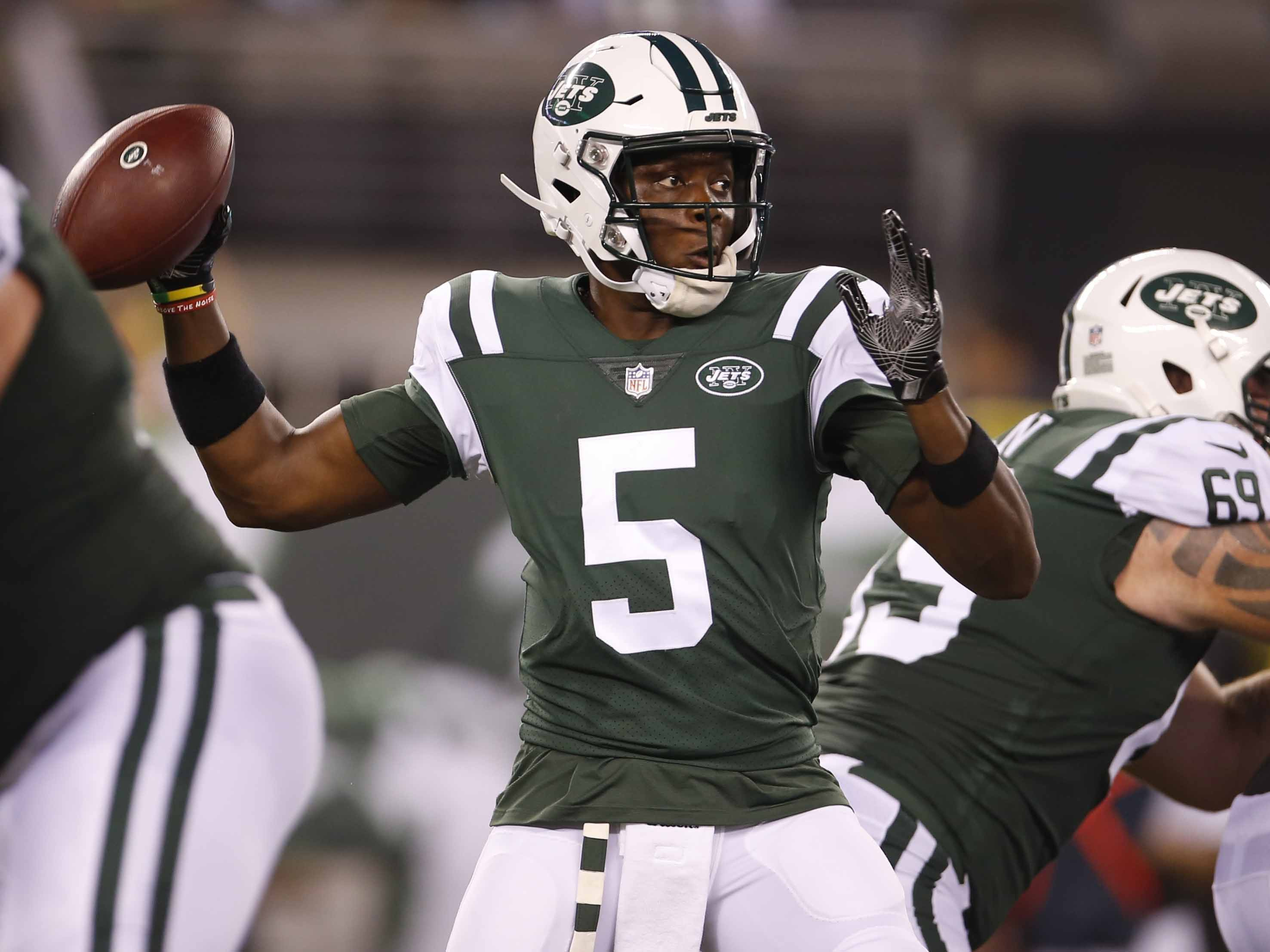a416aa0e Teddy Bridgewater's back! QB shines in Jets debut - NFL.com