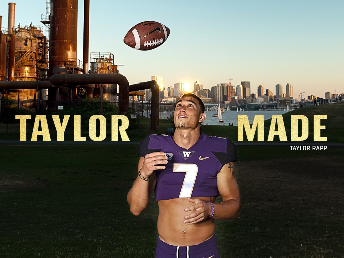 on sale 196a5 ee30c Cultural issue: How UW safety Taylor Rapp is changing ...