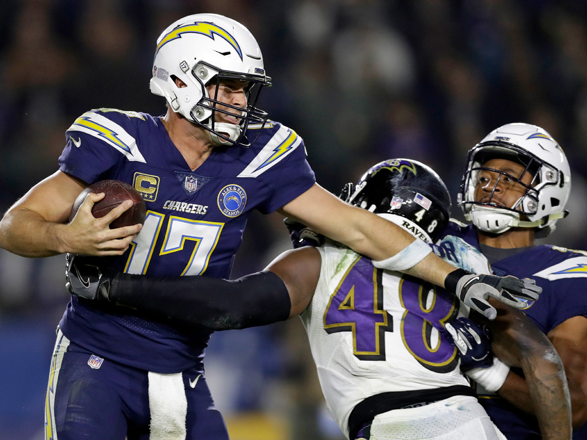 6259f240 Ravens weren't first team to expose Chargers' O-line weaknesses ...