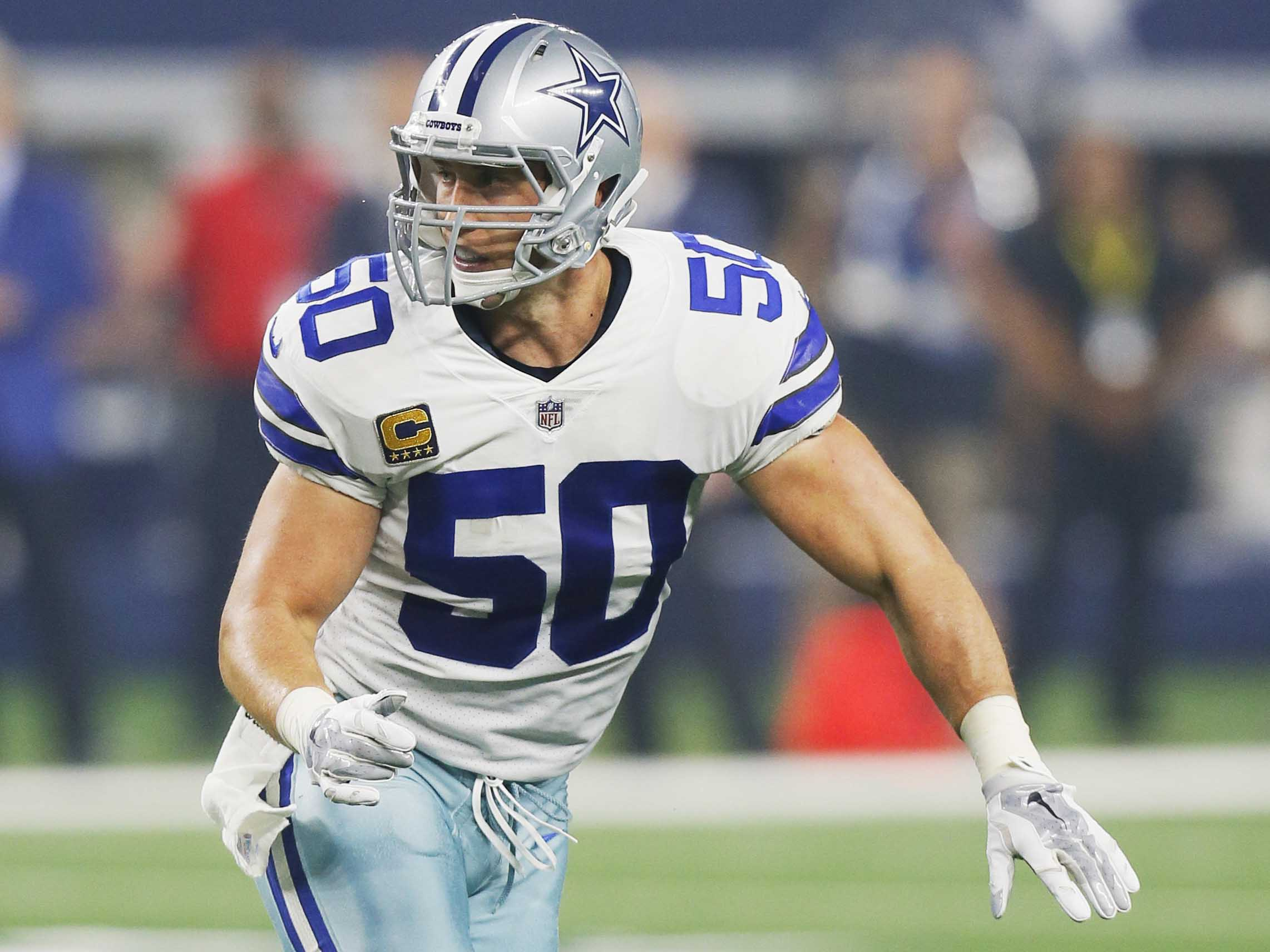 online store b437b 6aa16 Sean Lee: 'I'm leaning towards playing' in 2019 - NFL.com