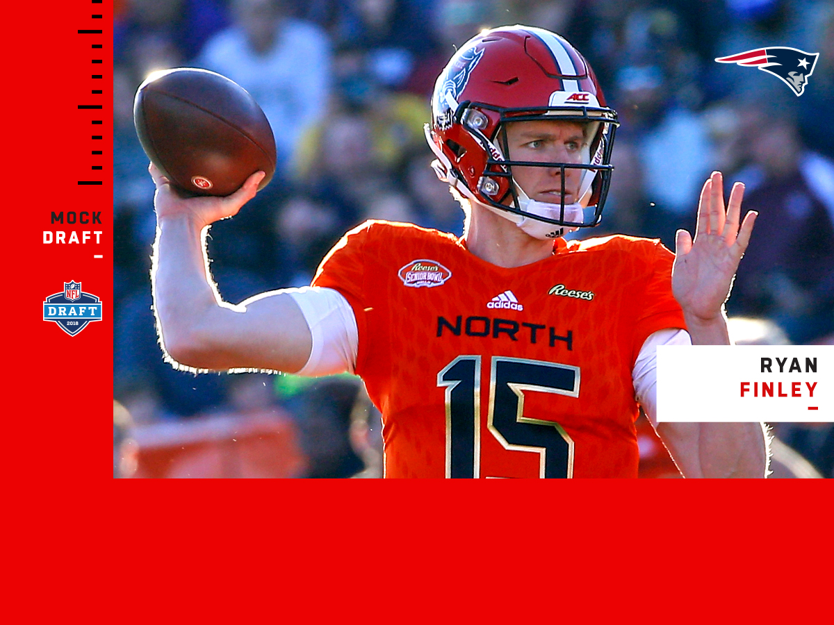 Three-round 2019 NFL mock draft 1 0: QB for Patriots in