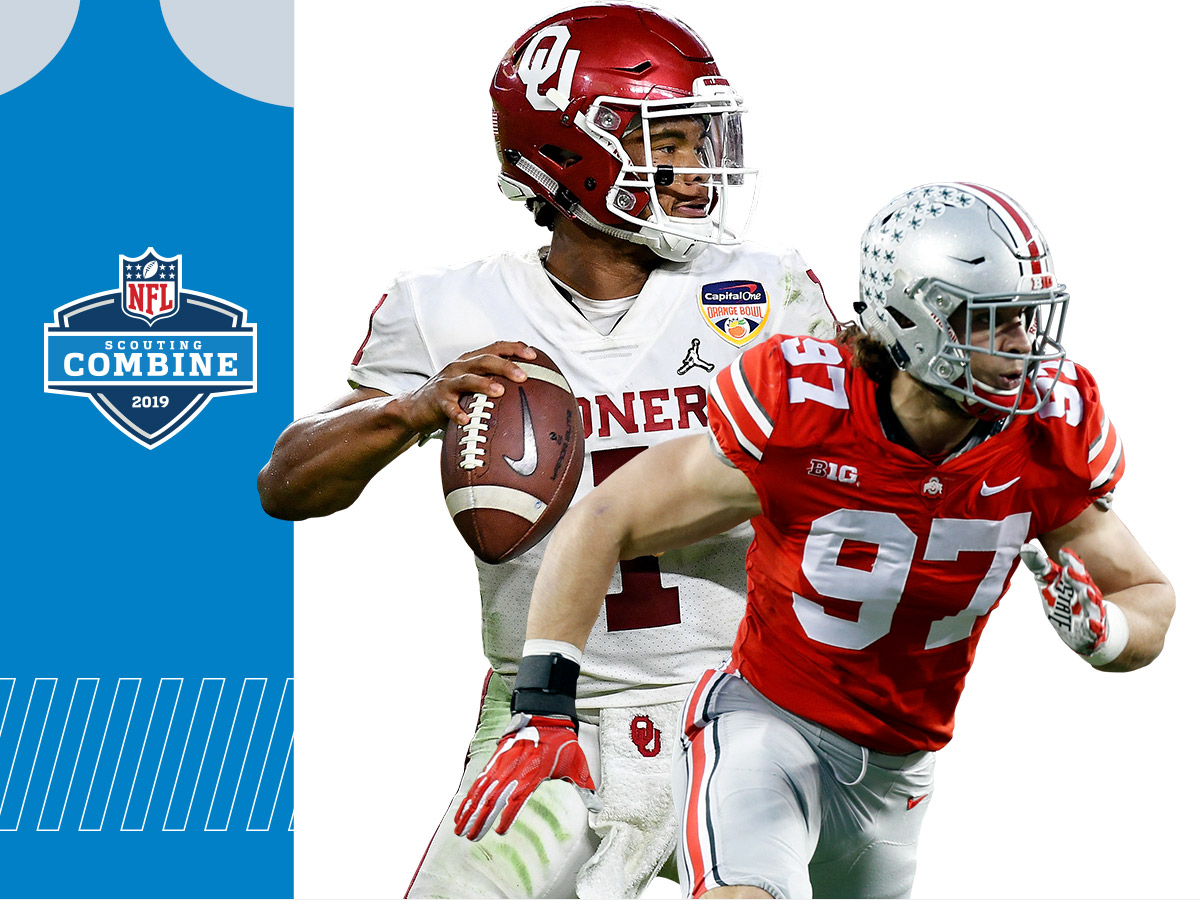 the best attitude c88b2 6c7c1 2019 NFL Scouting Combine: Full list of invited prospects ...