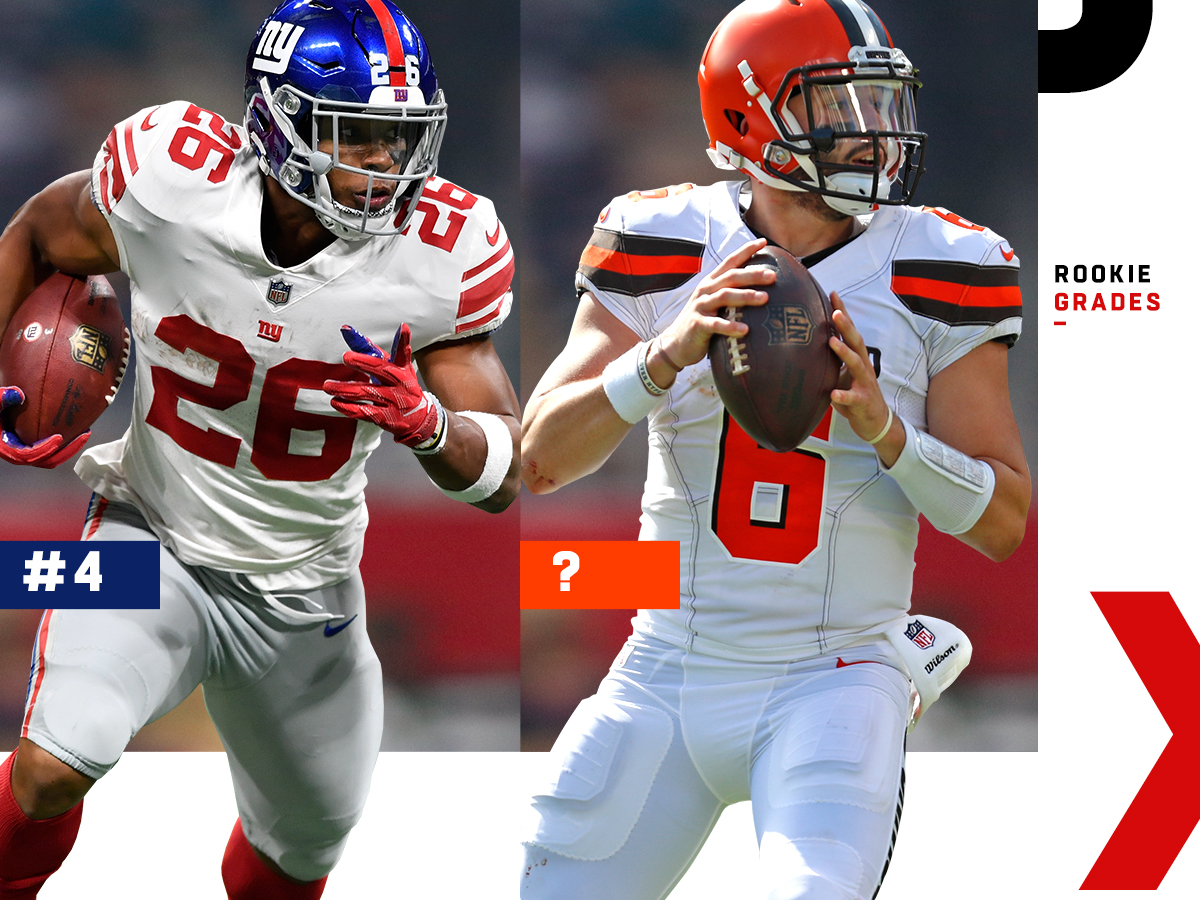 8ccb9354 2018 NFL rookie report card: Ranking each team's class, 1 to 32 ...