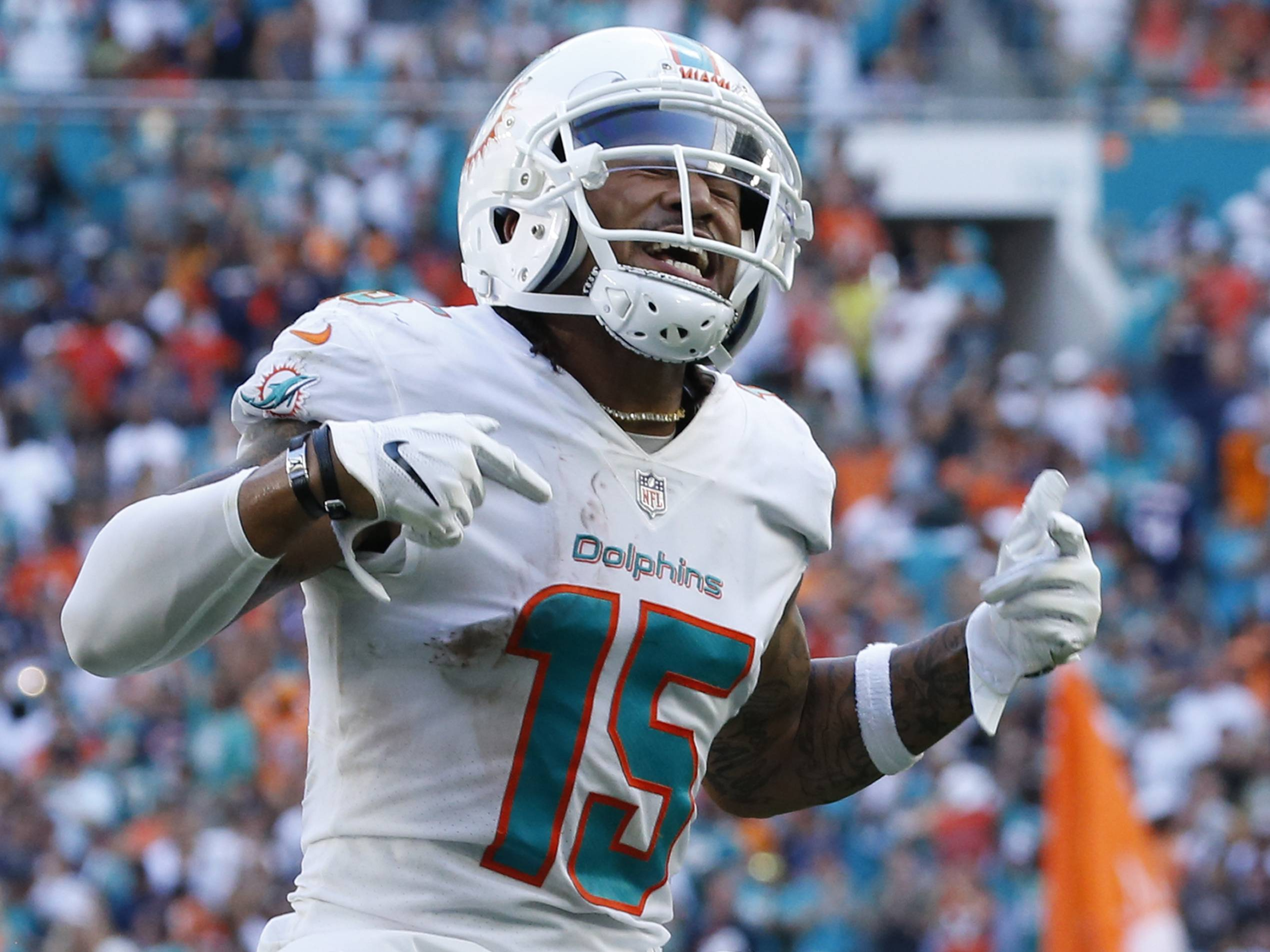 promo code fafae 2c277 Dolphins WR Albert Wilson expects to return by Week 1 - NFL.com