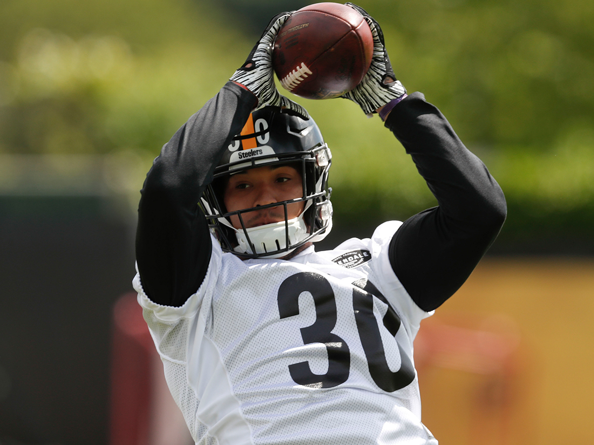 promo code 2330c de6c4 Steelers' James Conner: 'I'll have a similar role' in '19 ...