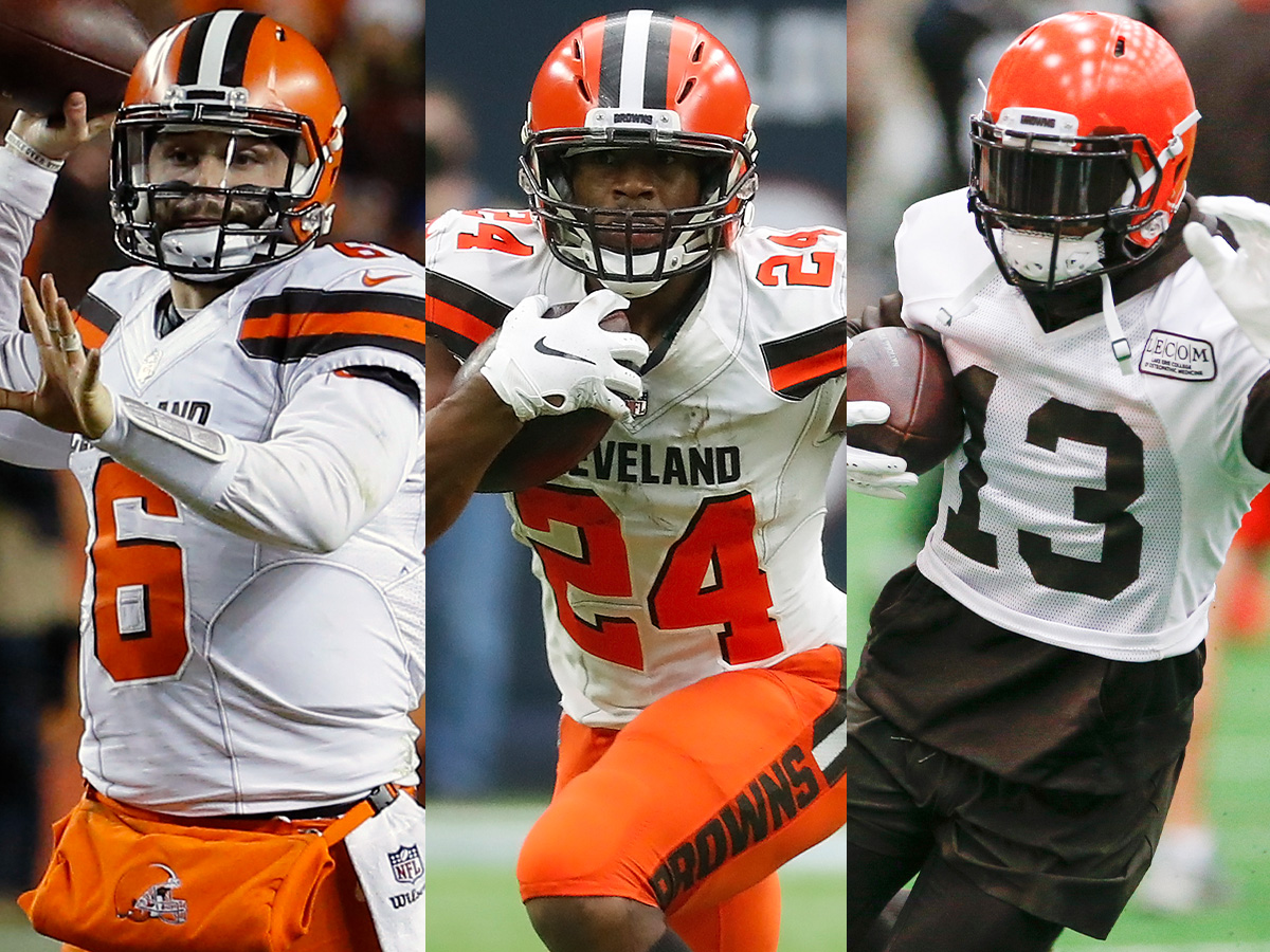 2019 NFL triplets rankings: Saints, Chargers, Browns top the