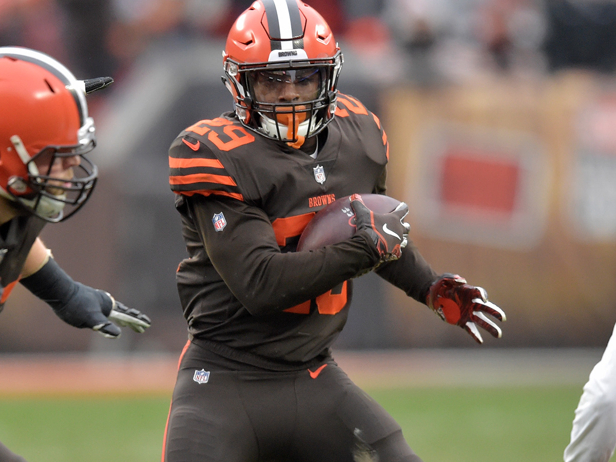 Duke Johnson reports to Browns training camp - NFL com