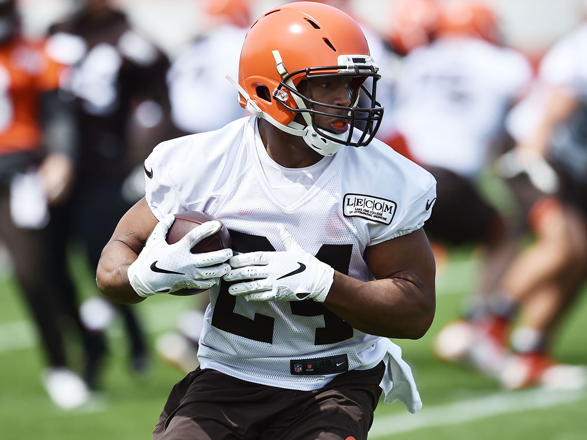 new concept 5a9d3 133c8 Making the Leap: 24 reasons why Browns' Nick Chubb will ...