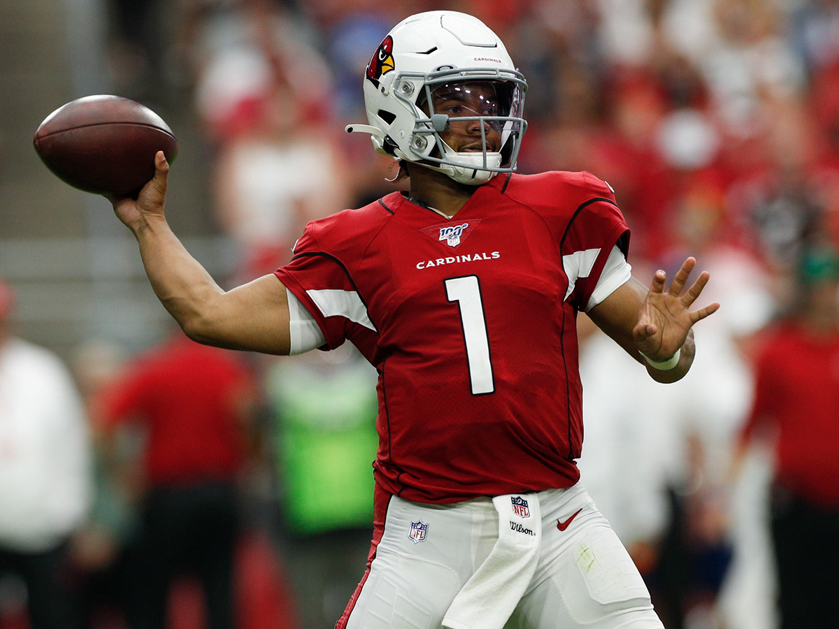 buy popular bd44d b5440 Kyler Murray shows potential in rallying Arizona Cardinals ...