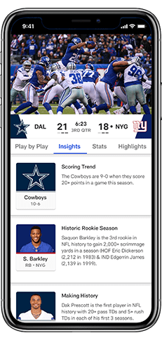 NFL App - Watch Primetime Foot...