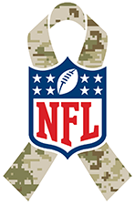 new concept 5ab22 04a8c NFL HONORS VETERANS, ACTIVE DUTY SERVICE MEMBERS AND ...