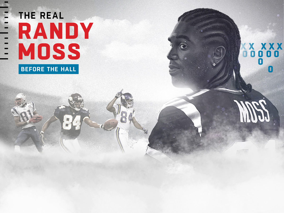 reputable site 3b076 f983c The Real Randy Moss: Those who were there dish on the Hall ...