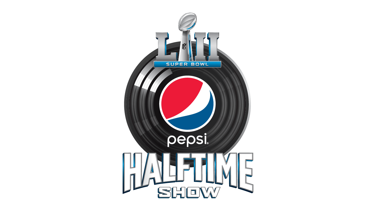 Super Bowl 52 Halftime Logo