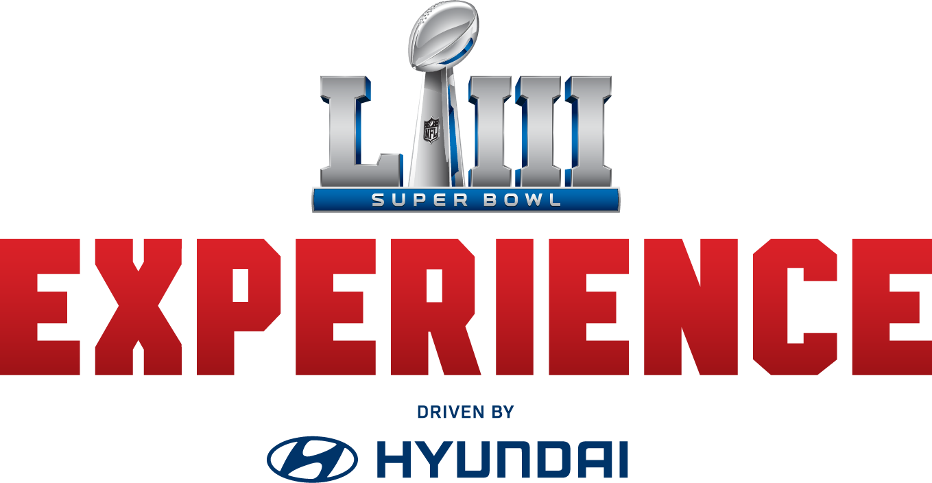 Super Bowl Experience Driven by Hyundai Logo