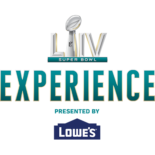 Super Bowl Experience presented by Lowe's logo