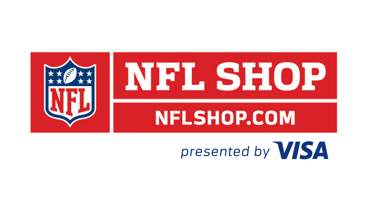 NFL Shop presented by Visa logo