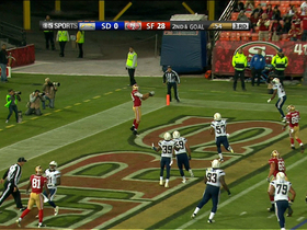 Celek 3-yard touchdown catch