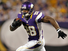 'Sound FX': Peterson tries to break Dickerson's single-season rushing record vs. Packers