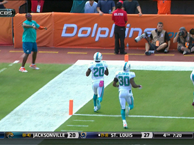 Dolphins intercept Flacco and return for a touchdown
