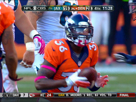 Denver Broncos defensive back Kayvon Webster interception