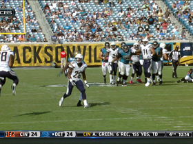 Henne intercepted by Gilchrist