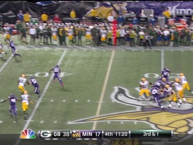 QB Rodgers to WR Boykin, 27-yd, pass